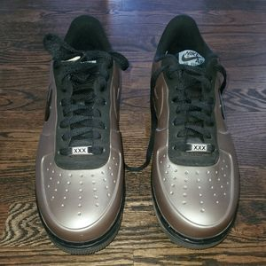 NIKE AIR FORCE 1 FOAMPOSITE PRO LOW QS FLAT PEWTER